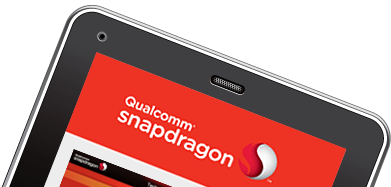 Qualcomm mobile website design